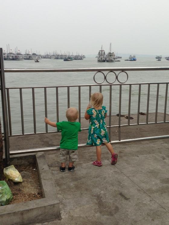 As far as we got in Ha Long Bay