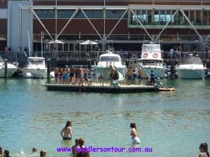Hillarys marina - pontoon | Perth with Kids | Explore My City | BabyGlobetrotters.Net
