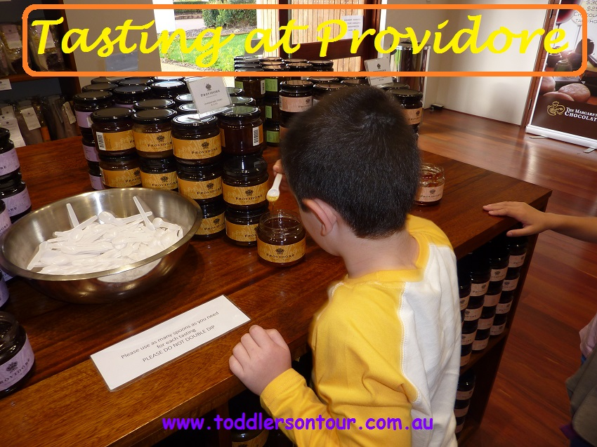 Tasting at Providore | Perth with Kids | Explore My City | BabyGlobetrotters.Net